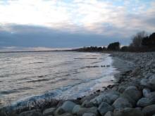 Møn Råbylille Strand Richtung Westen 042