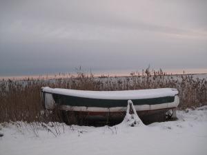 Ulvshale und Nyord im Schnee 048