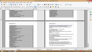 Handlungsplan Roman Gliederung Textverarbeitung