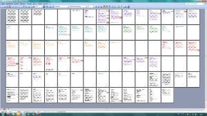 Handlungsplan Roman Seitenüberblick Textverarbeitung