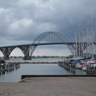 Königin-Alexandrine-Brücke Møn Seeland Kalvehave