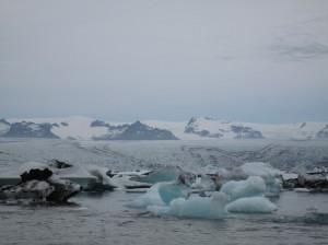 Island Gletschersee Jökulsarlon