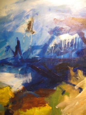 Leuchtende Farben (Gemäldedetail von Søren Madsen)