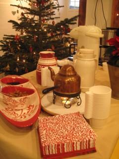 Kaffee, Kuchen, Kerzenschein :-)