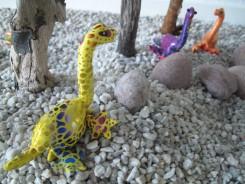 frisch geschlüpfte Dinobabys