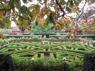 Geradlinig: Botanischer Garten, Vordingborg
