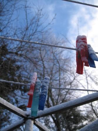 Bakkegaarden Møns Klint i sne 207