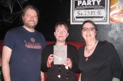 Mit Verleger Holger Kliemannel und Herausgeberin Anja Bagus