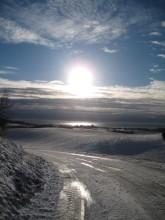 Møn Busenevej i sne 002