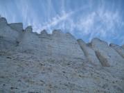 Strand og klint fra Møns Fyr mod Gråryg Fald 036