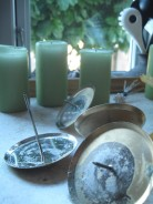 Adventskranz – Material aus dem Schrank