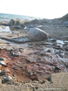 Naturfarben: Strand von Rytsebæk