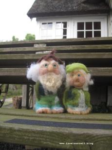 Hier machen wir unseren Mittsommerurlaub: In der Pension Bakkegaard Gæstgiveri Møns Klint.