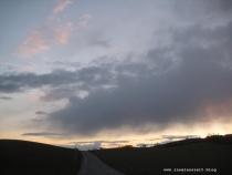 Møn Sonnenuntergang Høvblege 093