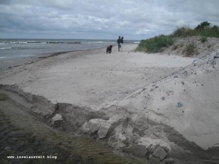 Møn Strand Klintholm Havn Richtung Westen 105