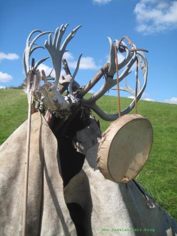 Jägersteinzeit-Zelt