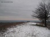 Elf gute Gründe auf eine Insel zu ziehen Møn Høvblege im Schnee