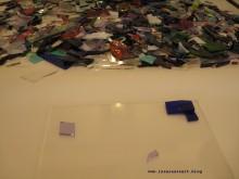 Glas Mosaik Roman Inspiration Scherben farbig 03