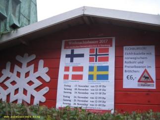 Burger auf der Kirchenbank - Weihnachtsbasar der nordischen Seemannskirchen in Hamburg