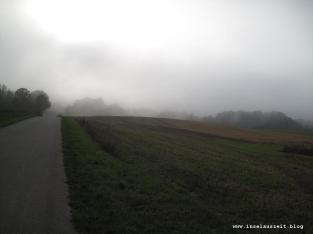 Grundtvig Skyerne gråner dänisches Lied übersetzt Feld und Straße im Nebel