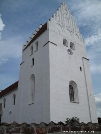 Grundtvig Skyerne gråner dänisches Lied übersetzt Kirche von Elmelunde Kirke Møn