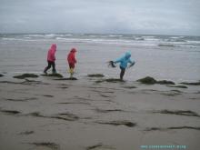 Møn Mandemarke Have Strand Sandburgen mit Kindern 049