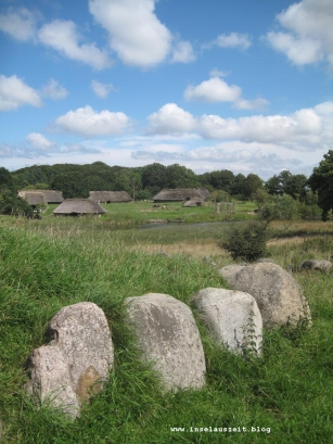 Sagnlandet Lejre Freilichtmuseum Steinzeit Bronzezeit Eisenzeit Dänemark 026