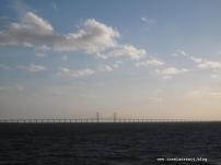 Die Öresundbrücke ist ein Erlebnis!