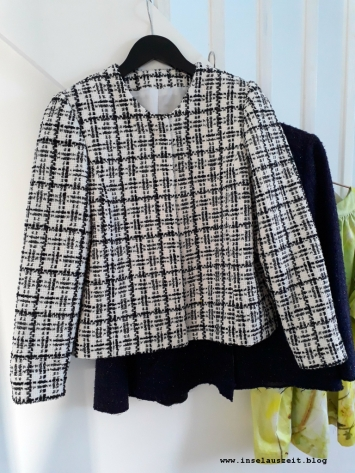 Chanel-Jacken, noch ohne Fransenband
