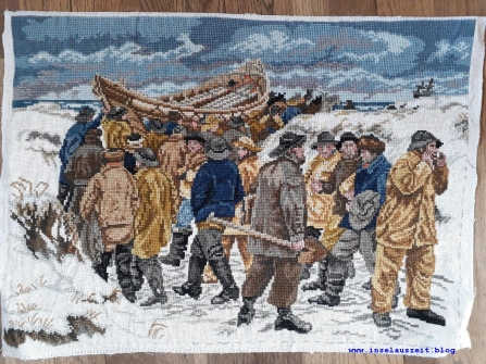 Kunst als Kreuzstich: Motiv eines Skagen-Malers?