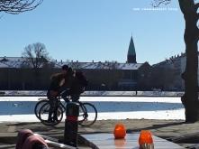 Winterbilder aus Dänemark Kopenhagen København søerne cocktail
